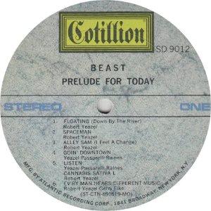 BEAST - COTILLION 9012 - RA