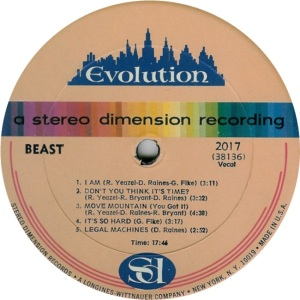 BEAST - EVOLUTION 2017 RA