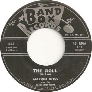 Blue Rhythms - Band Box 243 - 60s A