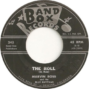 Blue Rhythms - Band Box 243 - 60s A