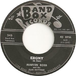 Blue Rhythms - Band Box 243 - 60s B