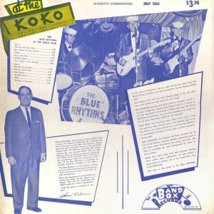 Blue Rhythms - Band Box LP 1004 B