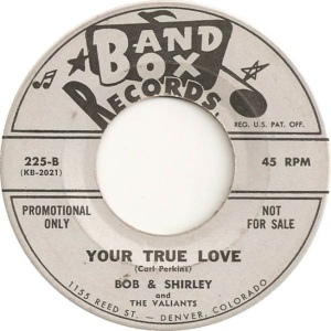 Bob & Shirley - Band Box 225 - 60 B
