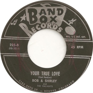 Bob & Shirley - Band Box 225 - 60 BV