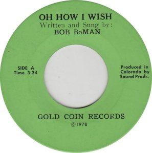BOMAN BOB - GOLD COIN A