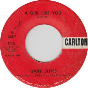 CARLTON 516 - STITES GARY - GIRL LIKE YOU RED
