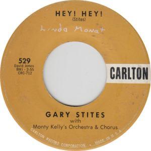 CARLTON 529 - STITES GARY - HEY HEY