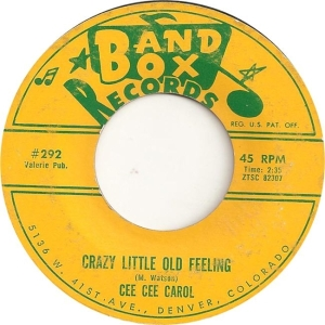 Carol, Cee Cee - Band Box 292 - 62 A