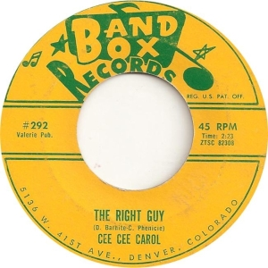 Carol, Cee Cee - Band Box 292 - 62 B