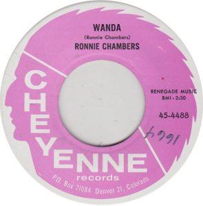 CHAMBERS RONNIE - CHEYENNE 4488