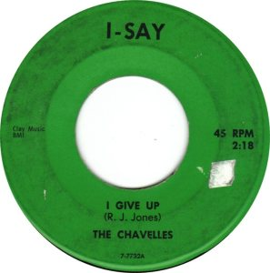 CHAVELLES NORTH COLO BACKED WITH I GIVE UP