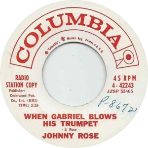 COLUMBIA 44243 - ROSE JOHNNY - A