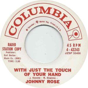 COLUMBIA 44243 - ROSE JOHNNY - B
