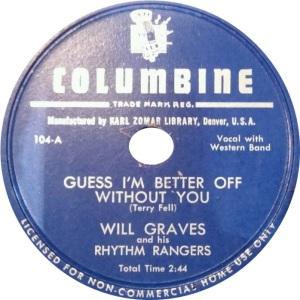 COLUMBINE 104 A GRAVES