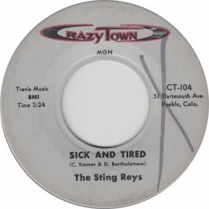 CRAZY TOWN 104 - STING REYS - NEW (1)