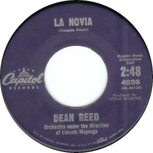 dean-reed-la-novia-capitol 1961