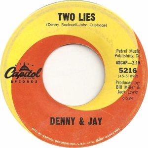 Denny & Jay - Capitol 5216 - 64 B