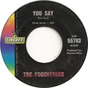Fogcutters - Liberty 55793 - B