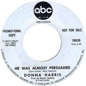 HARRIS DONNA - ABC 10829 DJ