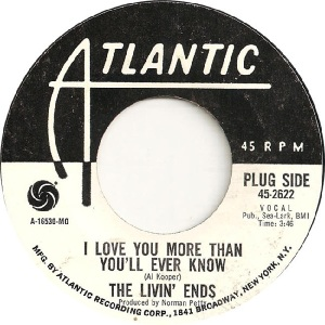 Livin Ends - Atlantic 2622 - 69 A