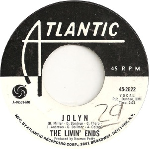 Livin Ends - Atlantic 2622 - 69 B