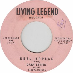 LIVING LEGEND 101 - STITES GARY - NEW (1)