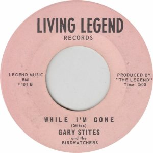 LIVING LEGEND 101 - STITES GARY - NEW (2)
