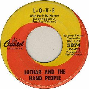 Lothar - Capitol 5874 - 67 B
