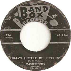 Mastertones - Band Box 226 - 60s A