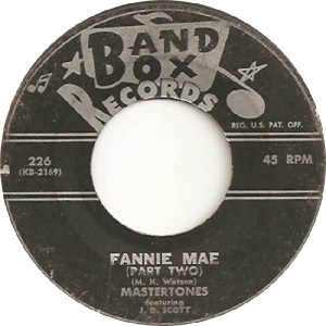 Mastertones - Band Box 226 - 60s B