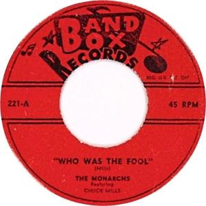 Monarchs - Band Box 221 A