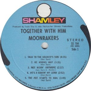 MOONRAKERS - SHAMLEY 704 - RA