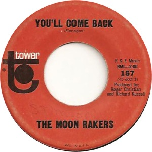Moonrakers - tower 157 come back - 1965