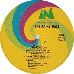 RAINY DAZE - UNI 3002 - RA