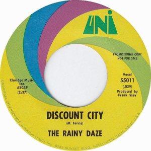 Rainy Daze - Uni 55011 - 67 B