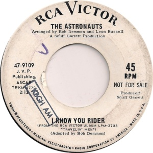 RCA 9109 - ASTRONAUTS B