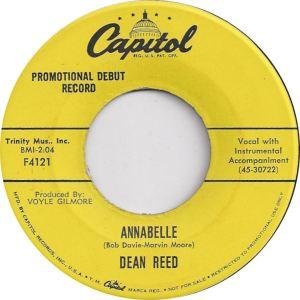 REED DEAN - CAPITOL 4121 DJ B