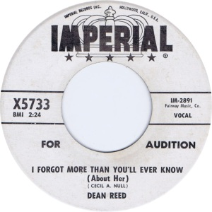 REED DEAN - IMPERIAL 5733 DJ B