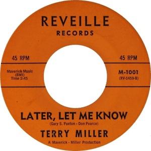 REVEILE 1001 - MILLER TERRY - 1960 B