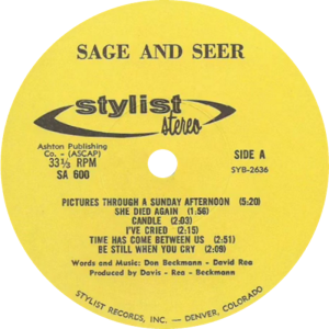 SAGE AND SEER LP SIDE 1
