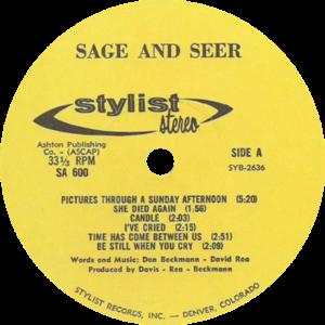 SAGE AND SEER LP SIDE 1