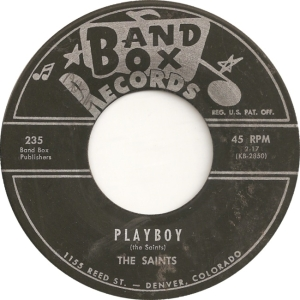 Saints - Band Box 235 - A
