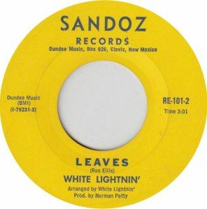 SANDOZ 101 - WHITE LIGHTNIN REPLACE BOTH (2)