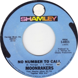 SHAMLEY 44015 - MOONRAKERS 69 A