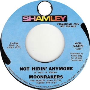 SHAMLEY 44021 - MOONRAKERS 69 B