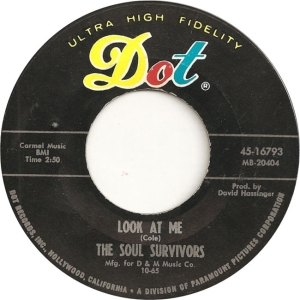 Soul Survivors - Dot 16793 B - 10-65