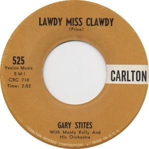 Stites, Gary - Carlton 25 - 60 - A