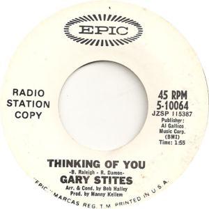 Stites, Gary - Epic 10064 - 66 - B
