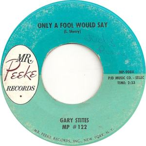 Stites, Gary - Mr. Peeke 122 - 62 - A
