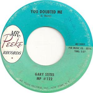 Stites, Gary - Mr. Peeke 122 - 62 - B
